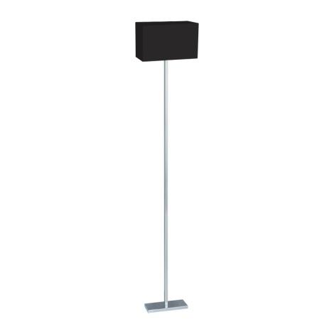 Stojanová lampa MADRID 1xE27/60W/230V černá
