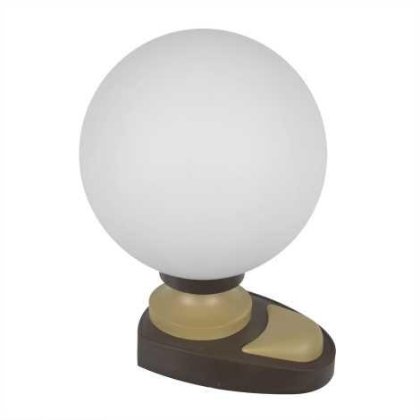 Stolní lampa 1xE14/40W/230V hnědá