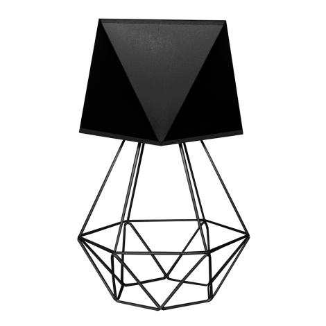 Stolní lampa ADAMANT LARGE 1xE27/60W/230V černá