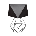 Stolní lampa ADAMANT SMALL 1xE27/60W/230V černá