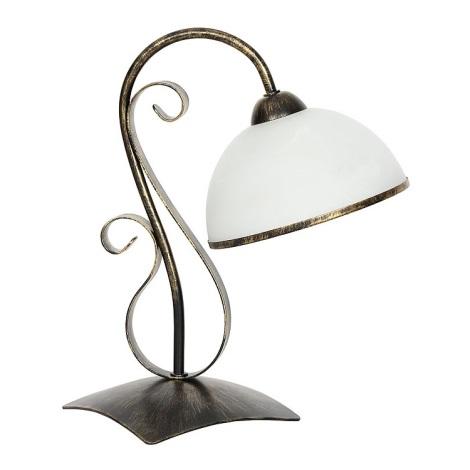 Stolní lampa ANTICA 1xE27/60W/230V