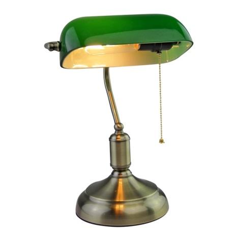 Stolní lampa BANKER 1xE27/60W/230V