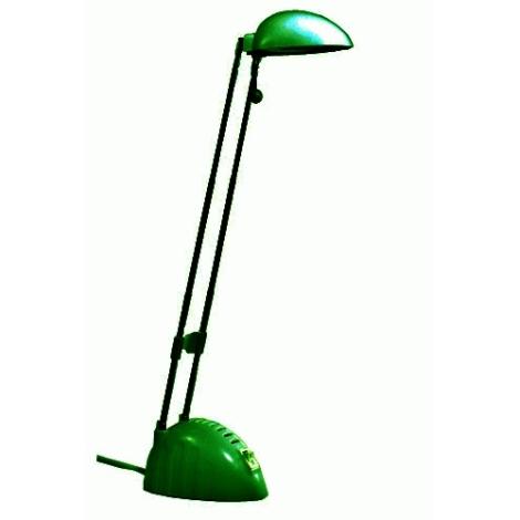 Stolní lampa BEN 1xG4/20W/230V/12V zelená