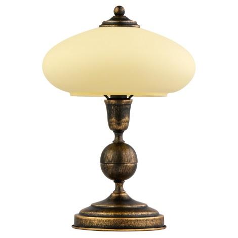 Stolní lampa BOLERO 1xE14/40W patina
