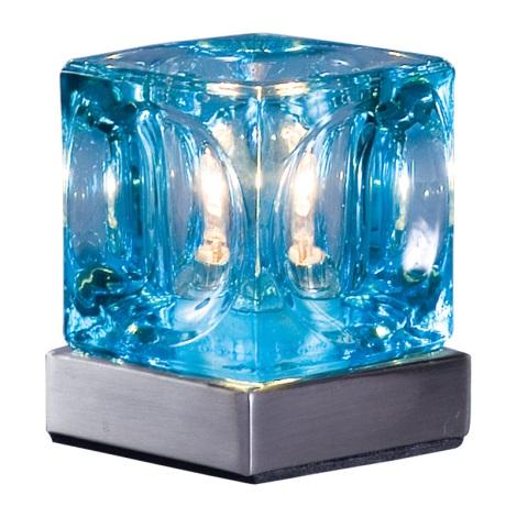 Stolní lampa DECORA modrá