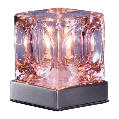 Stolní lampa DECORA růžová
