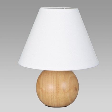 Stolní lampa DOME světlá