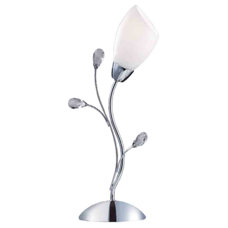 Stolní lampa GARDENIA L CR 1xE14/40W