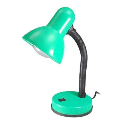 Stolní lampa KADET 1xE27/40W zelená