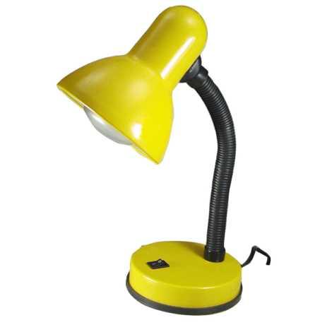 Stolní lampa KADET 1xE27/40W žlutá