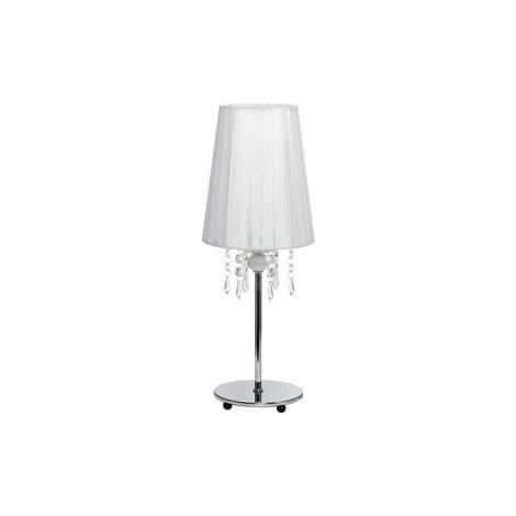 Stolní lampa MODENA WHITE I B - 1xE14/40W/230V