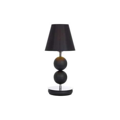 Stolní lampa NATHALIE BLACK I B - 1xE14/60W/230V