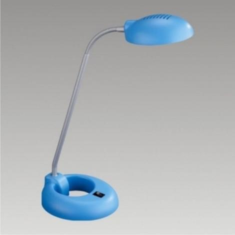 Stolní lampa PEDRO 1xG9/40W modrá