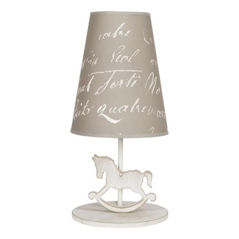 Stolní lampa PONY 1xE27/40W/230V