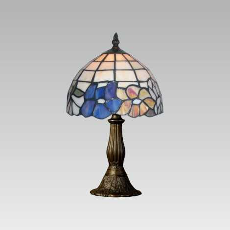 Stolní lampa TIFFANY 107 1xE14/40W