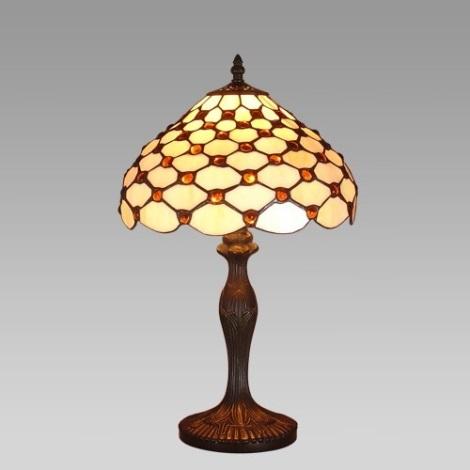 Stolní lampa TIFFANY 53 1xE27/60W