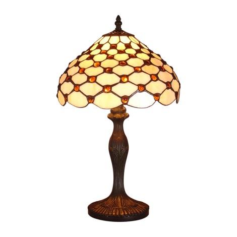 Stolní lampa TIFFANY 67 1xE14/40W