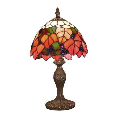Stolní lampa TIFFANY 69 1xE14/40W