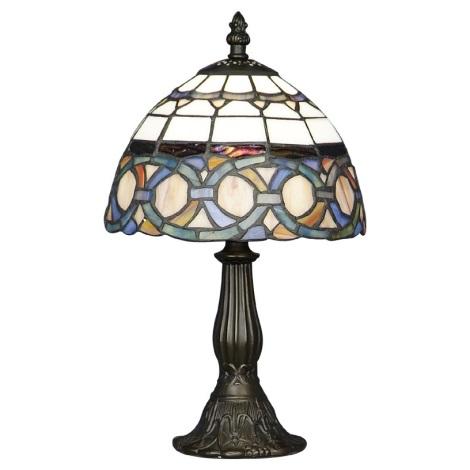 Stolní lampa TIFFANY 81 1xE14/40W