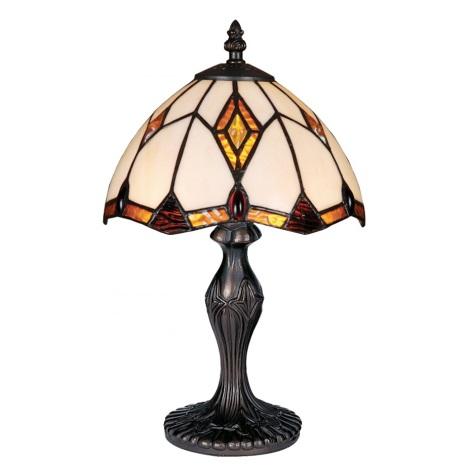 Stolní lampa TIFFANY 84 1xE14/40W
