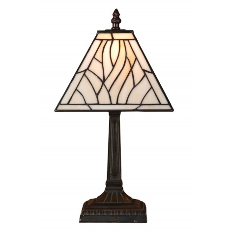 Stolní lampa TIFFANY 86 1xE14/40W