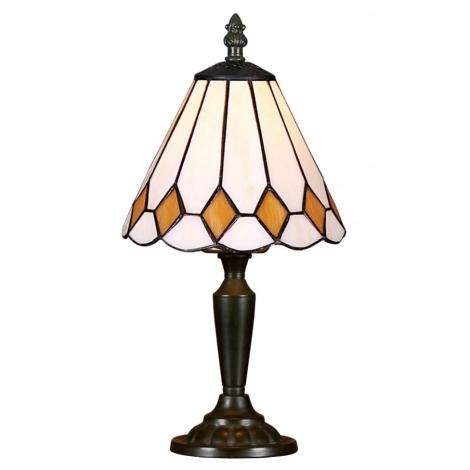 Stolní lampa TIFFANY 90 1xE14/40W