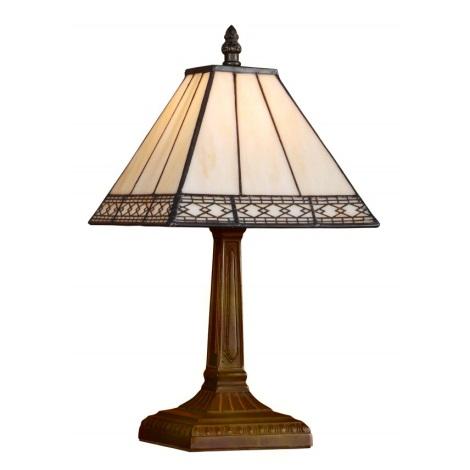 Stolní lampa TIFFANY 92 1xE14/40W