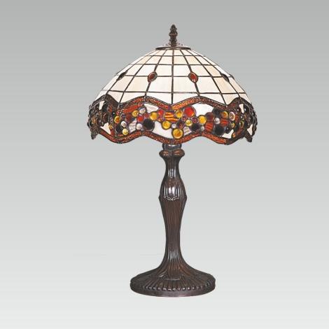 Stolní lampa TIFFANY 98 1xE27/60W