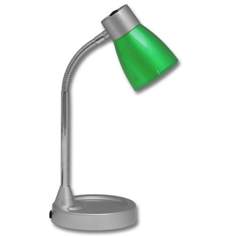 Stolní lampa TINA 1xE14/25W/230V zelená