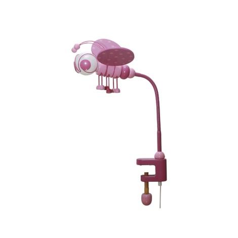 Stolní lampa VČELKA růžová