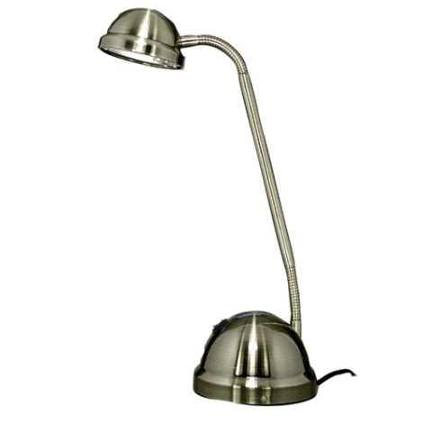 Stolní lampa VEGA 1xGY6,35/50W/230V/12V patina
