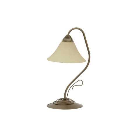 Stolní lampa VICTORIA GOLD - 1xE27/60W/230V