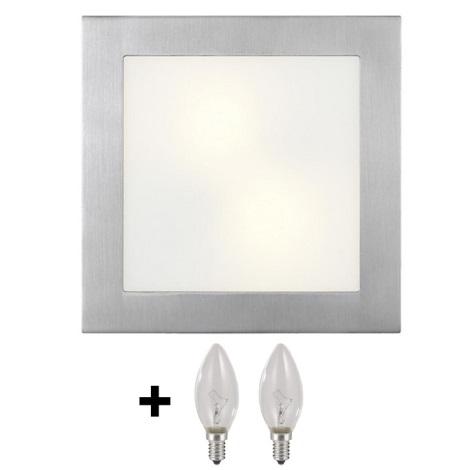 Stropní nástěnné svítidlo ARI 2xE14/40W/230V
