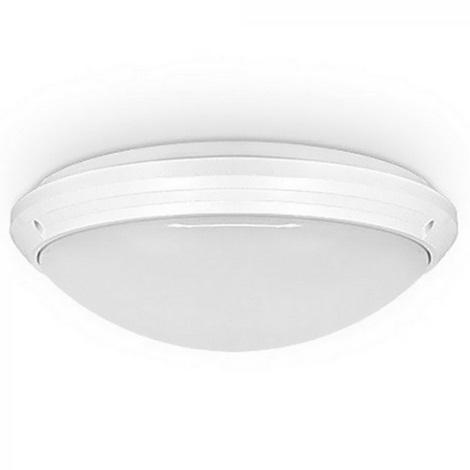 Stropní průmyslové svítidlo se senzorem VARNA L 2xE27/18W/230V IP65