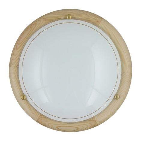 Stropní svítidlo 1xE27/60W/230V ø30 cm