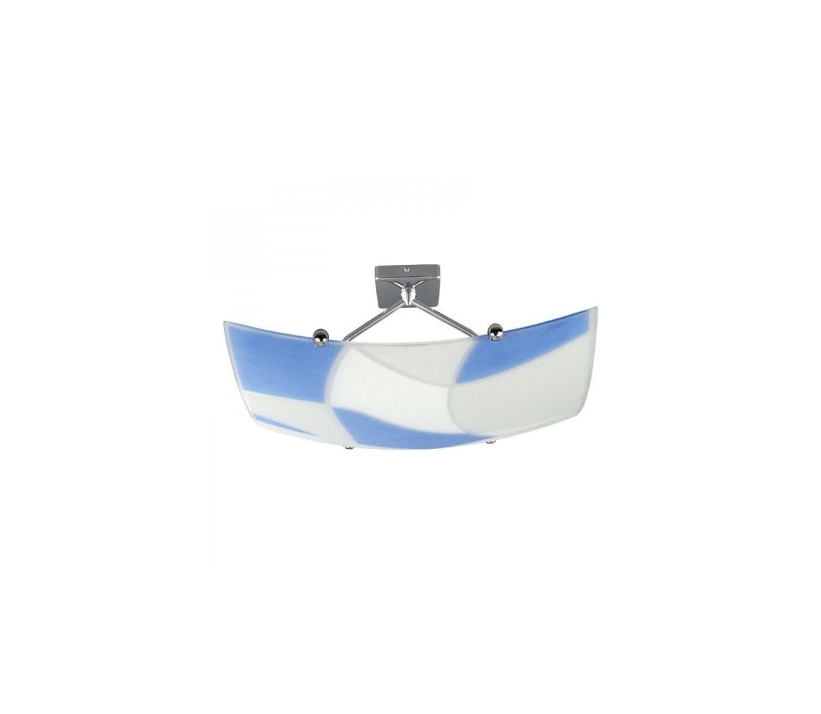 Prezent Stropní svítidlo ASPIS 2xE27/100W/230V bílá/modrá