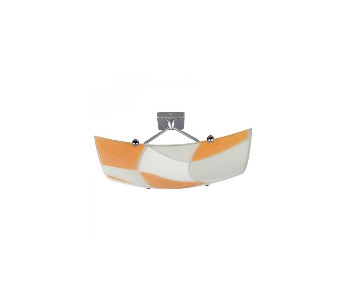 Prezent Stropní svítidlo ASPIS 2xE27/100W/230V bílá/oranžová