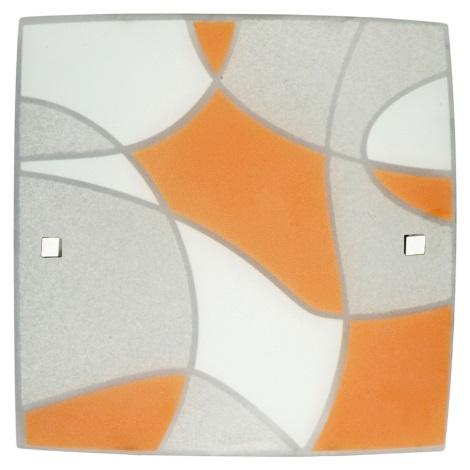 Stropní svítidlo ASPIS 3xE27 / 60W oranžová