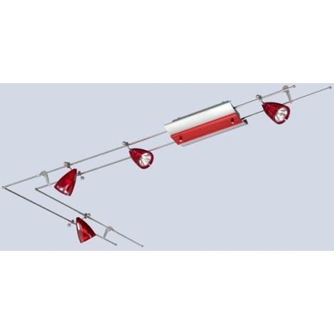 Stropní svítidlo CLOU3 4xGU5,3/20W