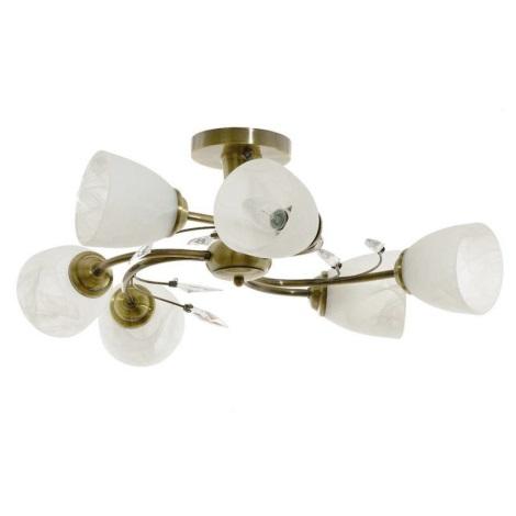 Stropní svítidlo LEARA 6xE14/40W/230V