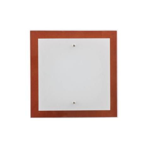Stropní svítidlo OSAKA SQUARE cherry S - 2xE27/60W/230V