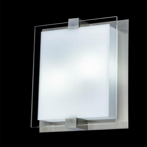 Stropní svítidlo SHARP 2xE27/18W/230V matný chrom