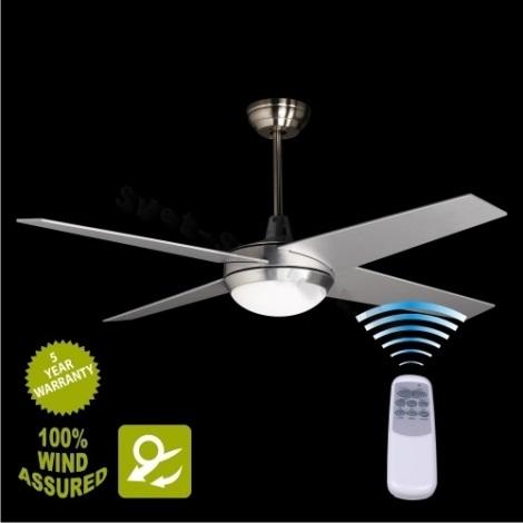 Stropní ventilátor s osvětlením YORK 2xE14/25W