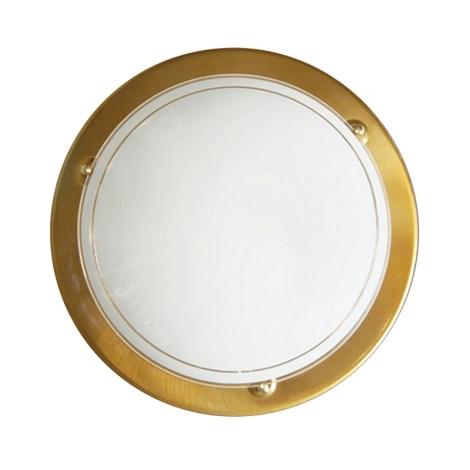 Top Light 5502/30/AN - Stropní svítidlo 1xE27/60W/230V zlatá