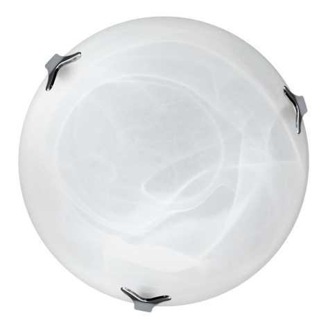 Top Light 5504/40/Cr/AL - Stropní svítidlo 2xE27/60W/230V