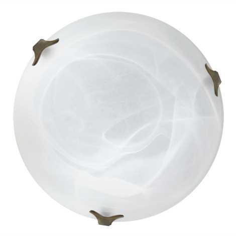 Top Light 5504/40/ZL/AL - Stropní svítidlo 2xE27/60W/230V