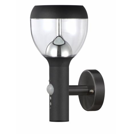 TOP LIGHT - LED venkovní nástěnné svítidlo s čidlem SONDRIO LED/10,5W/230V