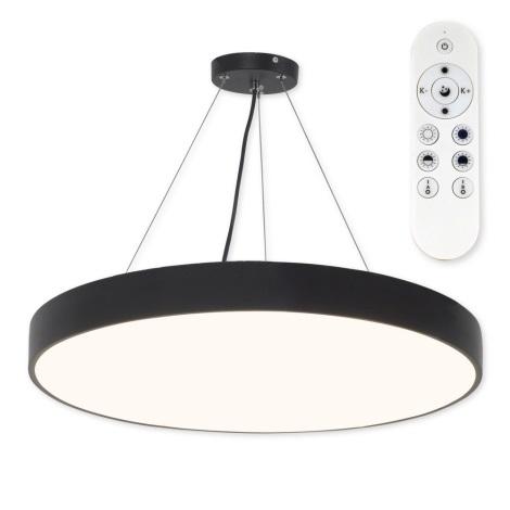 Top Light Metal 60CZ RC - LED Stmívatelný lustr na lanku LED/60W/230V černá