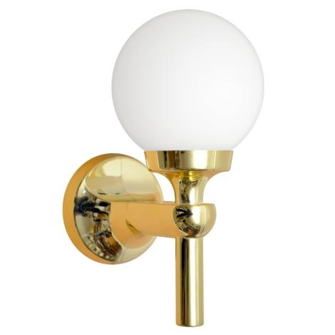 TOP LIGHT - Nástěnné koupelnové svítidlo 1xE14/40W/230V zlatá