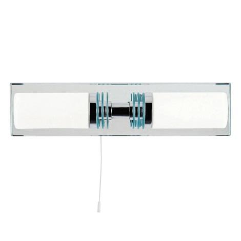 Top Light Odra 2 - LED Koupelnové svítidlo ODRA 2xG9/5W/230V + 2xG9/40W/230V IP44